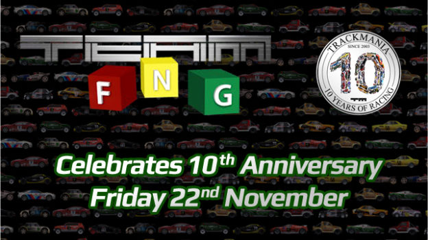 Friday Night Gamers TrackMania Anniversary