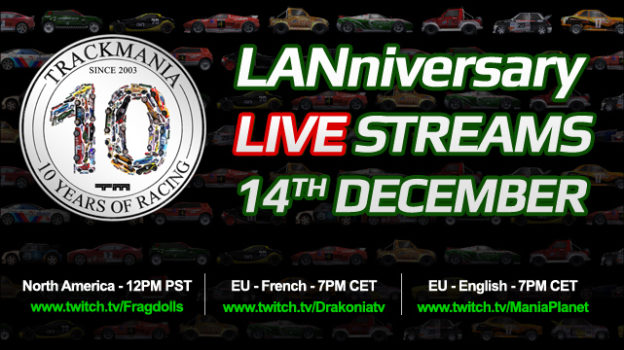 Trackmania anniversary live stream